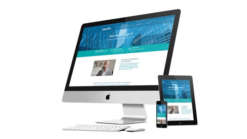 IT company website design
